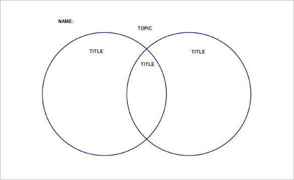 20 Venn Diagram Templates Sample Example Format Download Free Premium Templates
