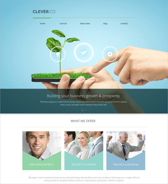 marketing agency responsive bootstrap theme