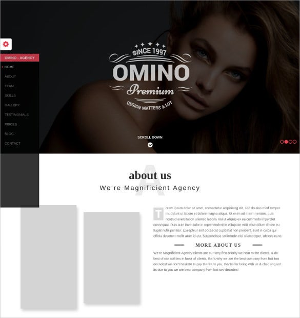 omino – responsive marketing bootstrap theme