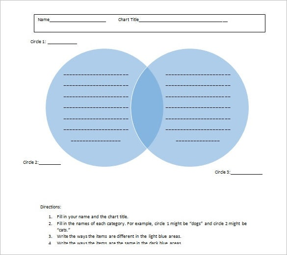 blank venn diagram templates free download for word