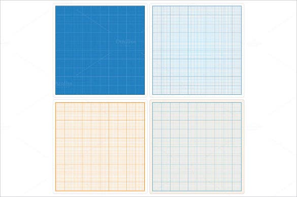 Blank Colourful Graph Paper. Download  Download Graph Paper For Word