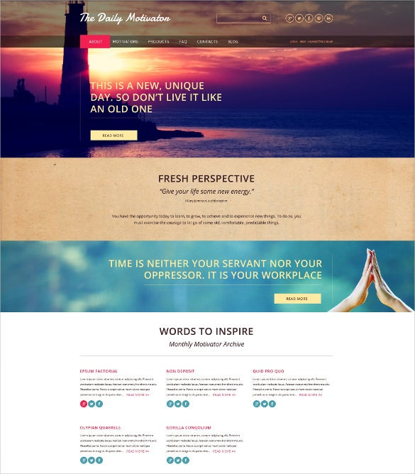 charity responsive html5 website template