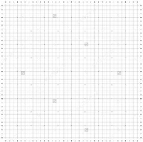 blank xxl millimeter graph paper