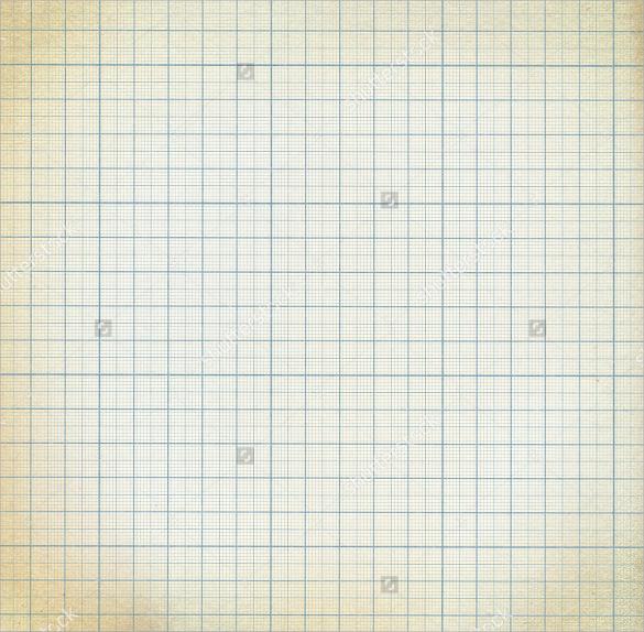 old vintage graph paper
