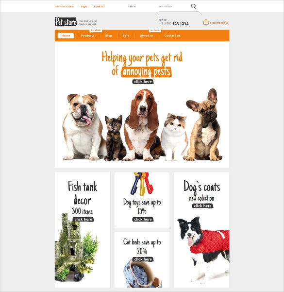 animals pets shopify ecommerce theme