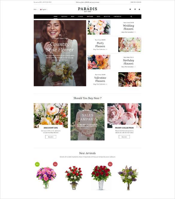 paradise – responsive multipurpose magento ecommerce theme