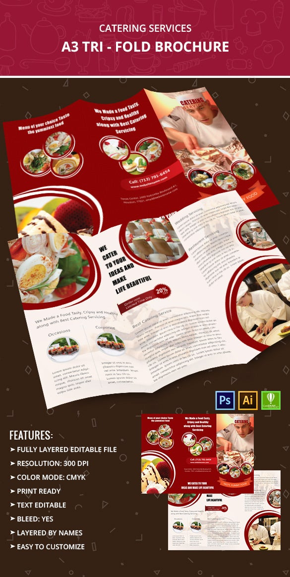 CateringServices_A3trifold_Brochure