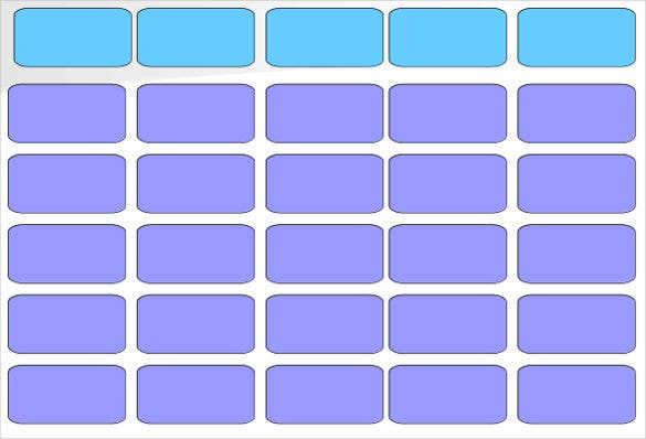 Blank Jeopardy Template Blank Templates – Blank Jeopardy Template