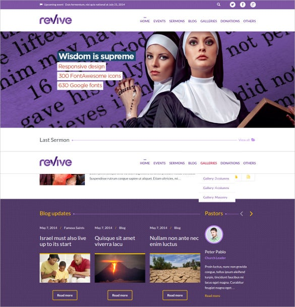 charity donations wordpress psd theme