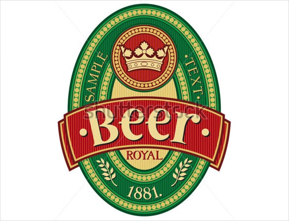Beer Label Template - 27+ Free Eps, Psd, Ai, Illustrator Format