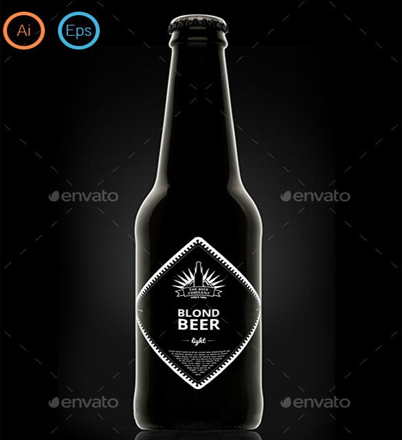 beer label designs template download
