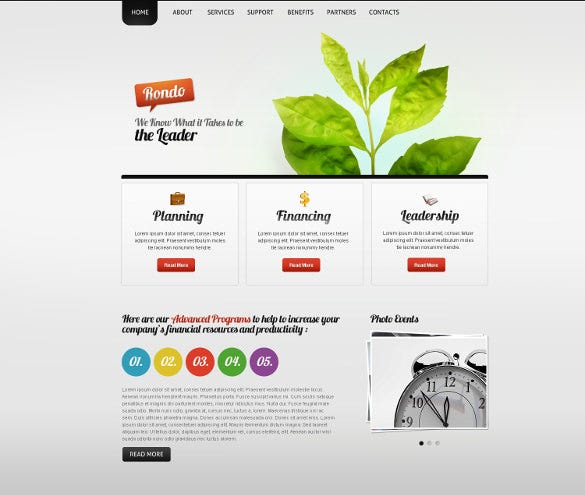 marketing agency psd template 11