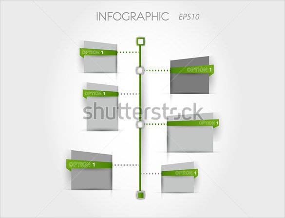 green square timeline