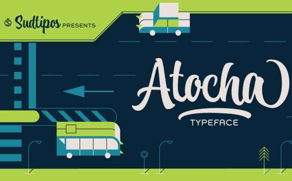 Tuesday (March 1st) Font - Atocha