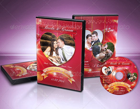 wedding dvd cover label and facebook timeline