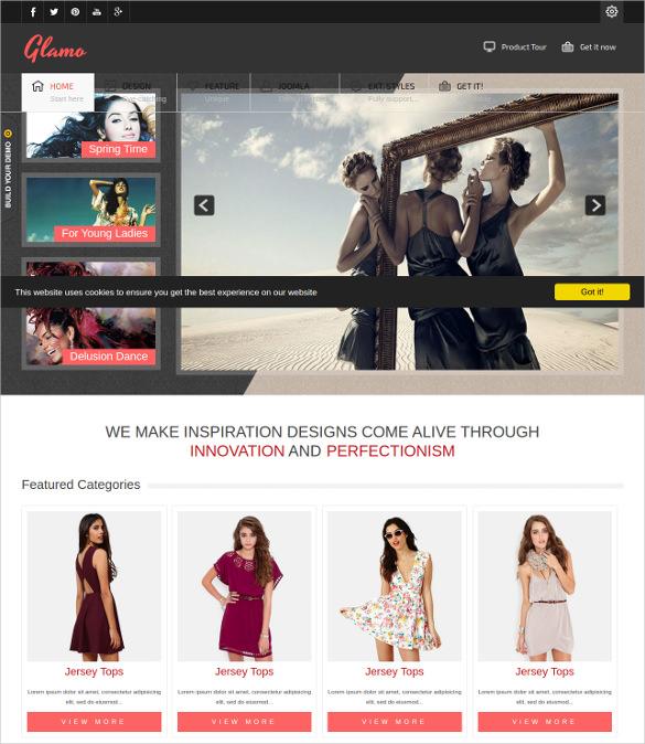 befits retail websites blog templates