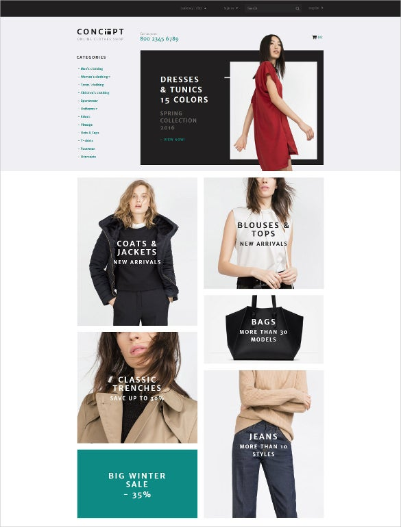 retail concept prestashop blog theme1