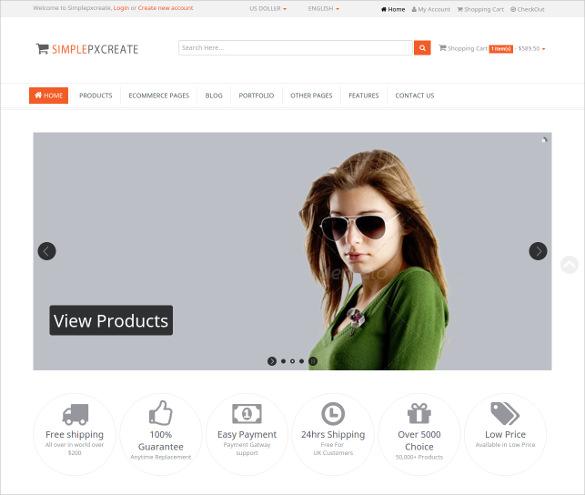 multipurpose retail blog template
