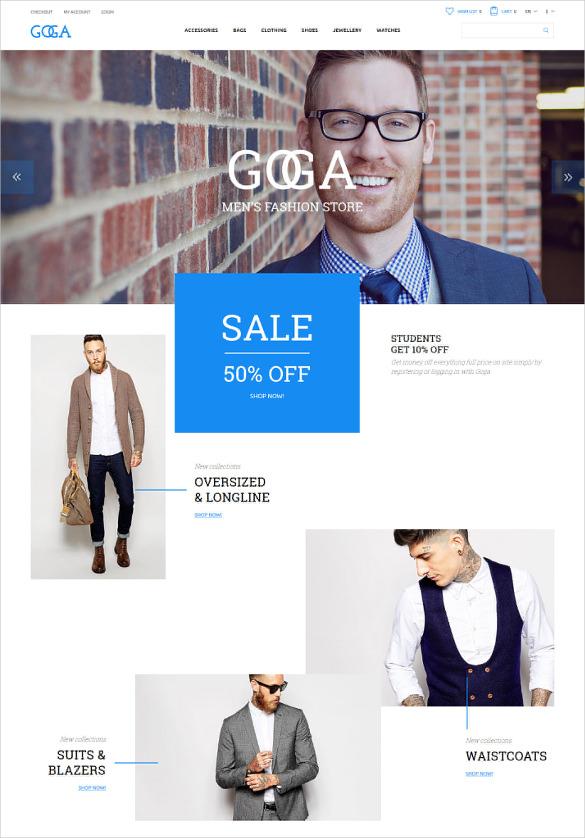 retail opencart blog template