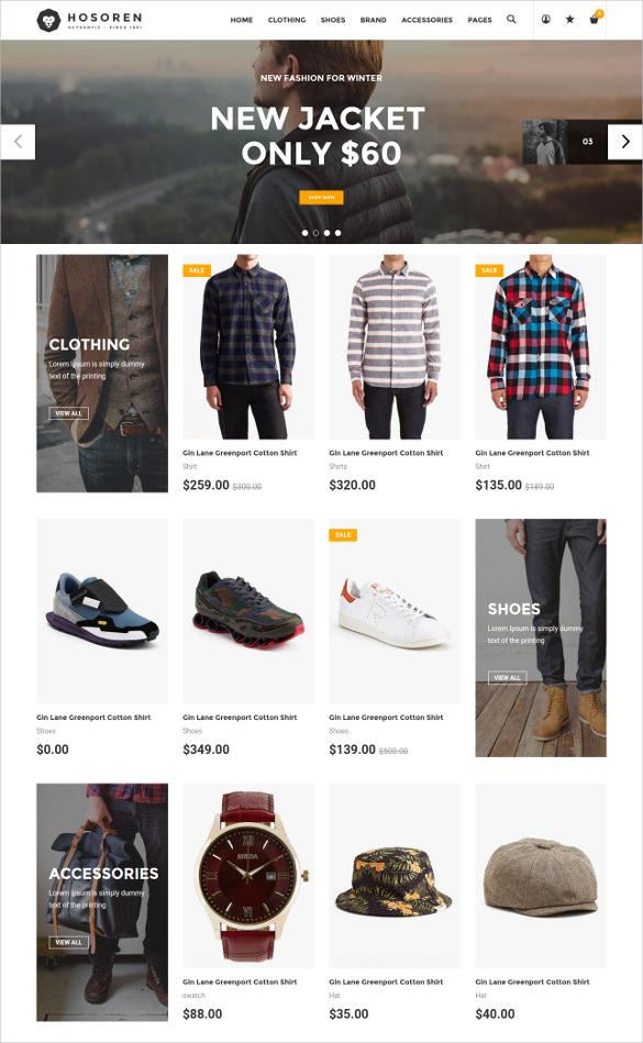responsive retail shopify blog theme