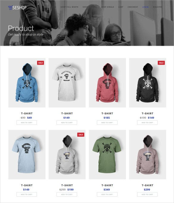 retail ecommerce bootstrap html5 template