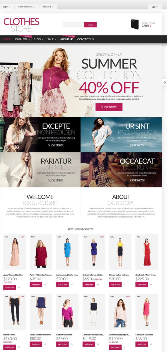 retail shopping in style shopify htmll5 theme