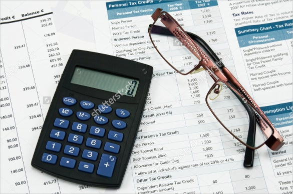 Accounting help needed: spreadsheet format?