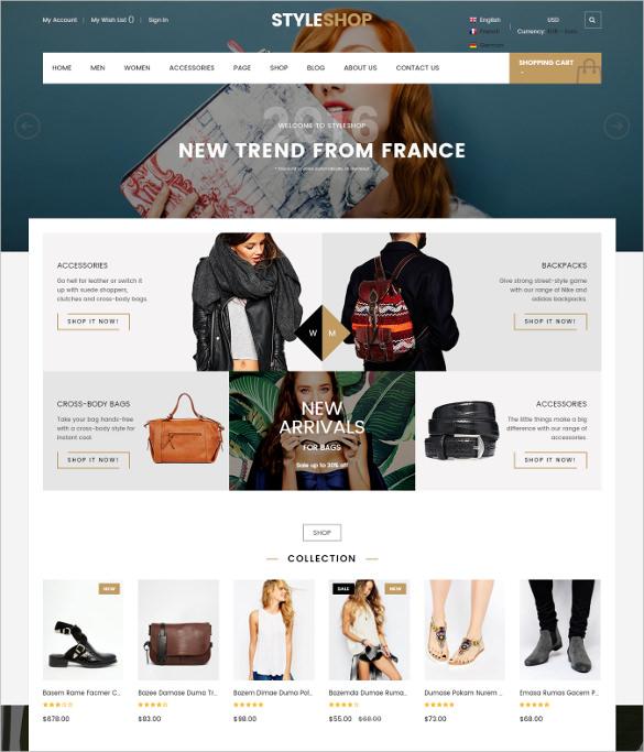 responsive retail magento bootstrap theme
