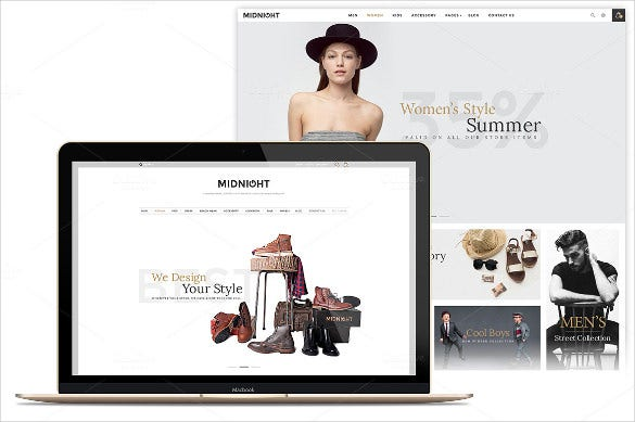 retail e commerce psd bootstrap template