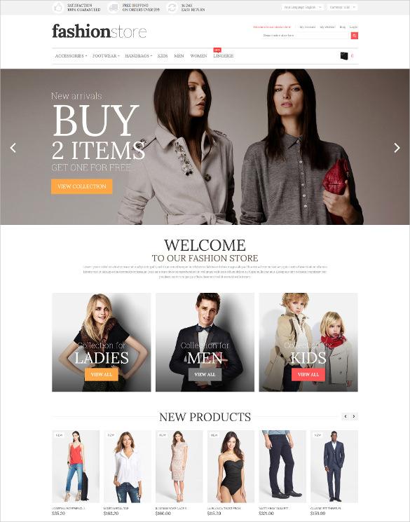 retail fashion store magento bootstrap theme
