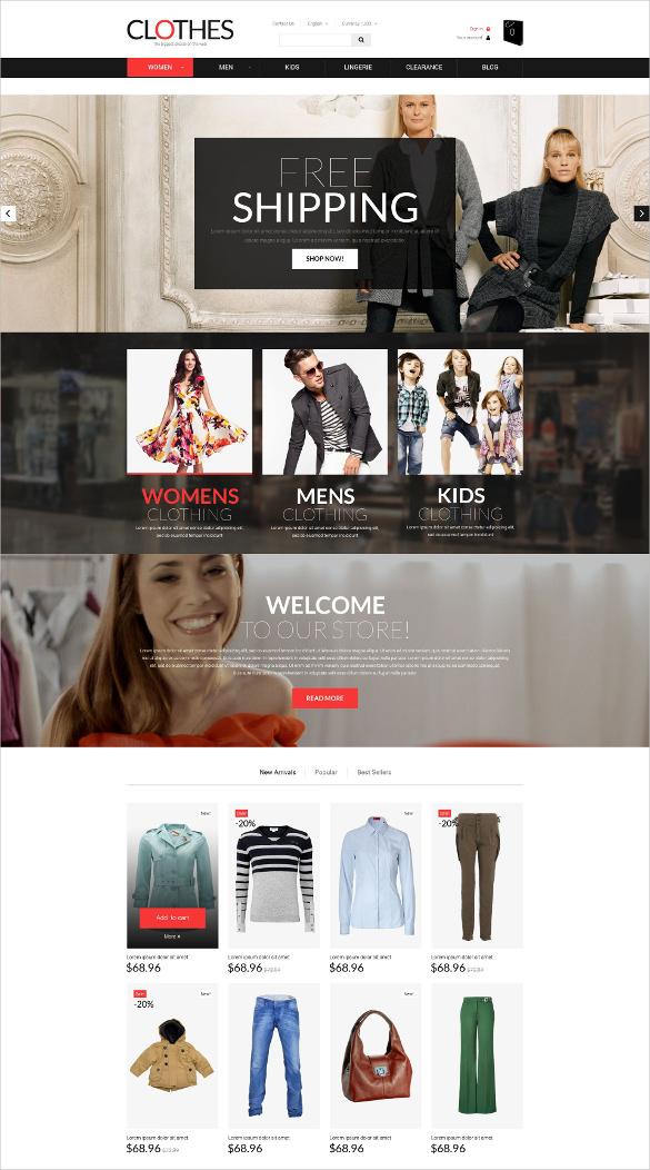 retail brand prestashop bootstrap theme