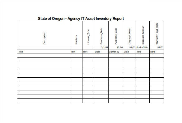 Attractive IT Spreadsheet Excel Format Template Free Download