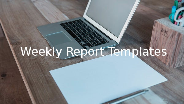 weeklyreporttemplates