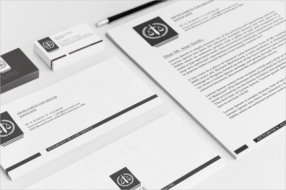 file folder label creative lawyer identity package