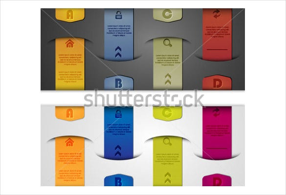 file folder label can be used for infographic vector eps