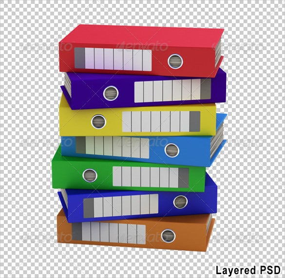 colorful file folders label download