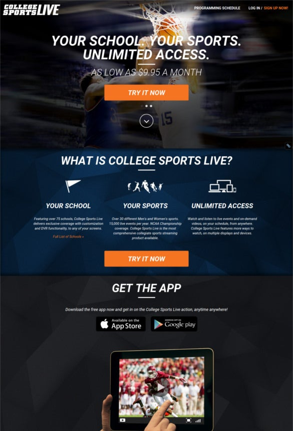 19 top websites to watch live sports free premium templates. Black Bedroom Furniture Sets. Home Design Ideas