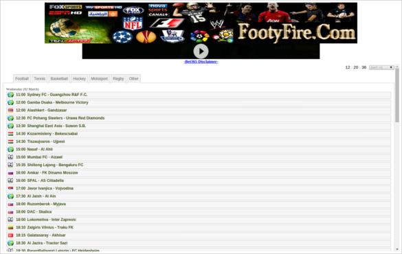 footy fire