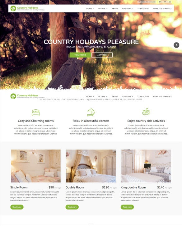 responsive retail php template