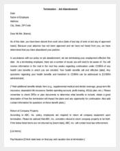 Editable Employee Termination Letter