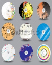 Collection of Vector CD Cover Design