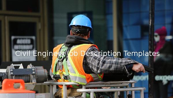 civil engineer job description template