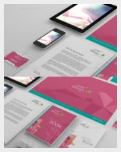 File Folder Label Corporate Identity Branding Download