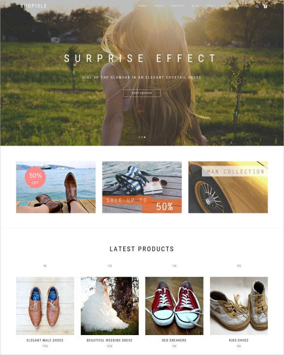 beautiful retail php theme