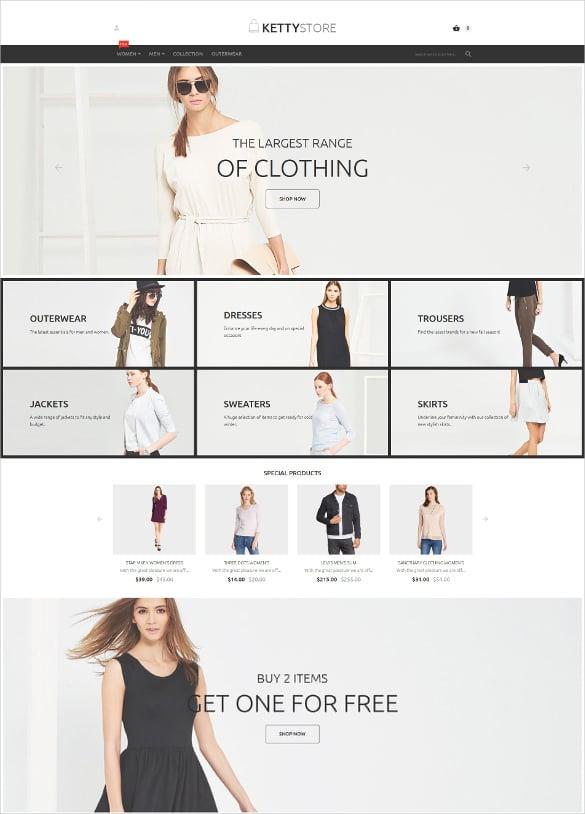 elegant retail store magento theme