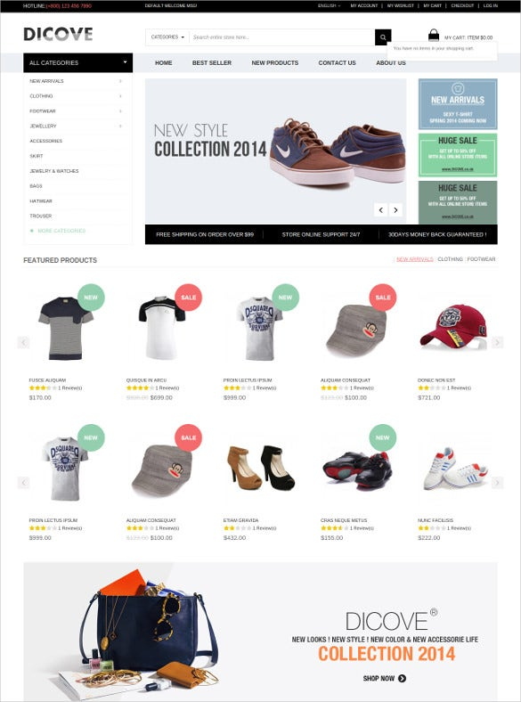 retail fashion responsive magento