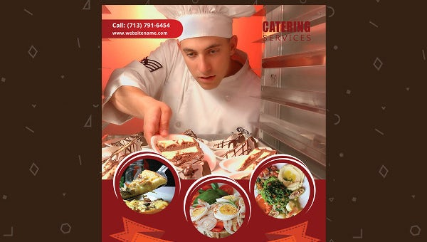catering services email newsletter template