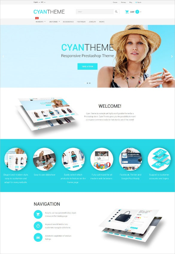 modern retail prestashop theme1