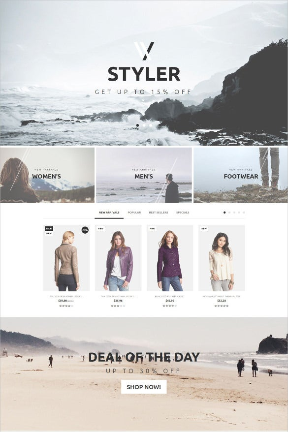 retail styler prestashop theme