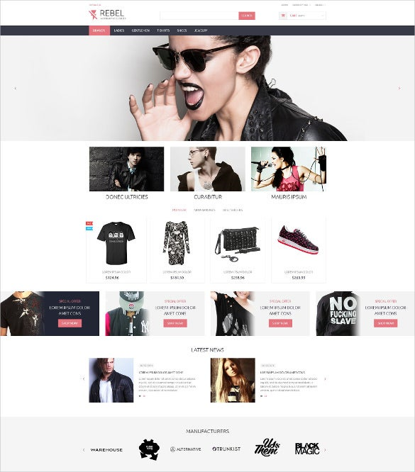 premium retail prestashop theme